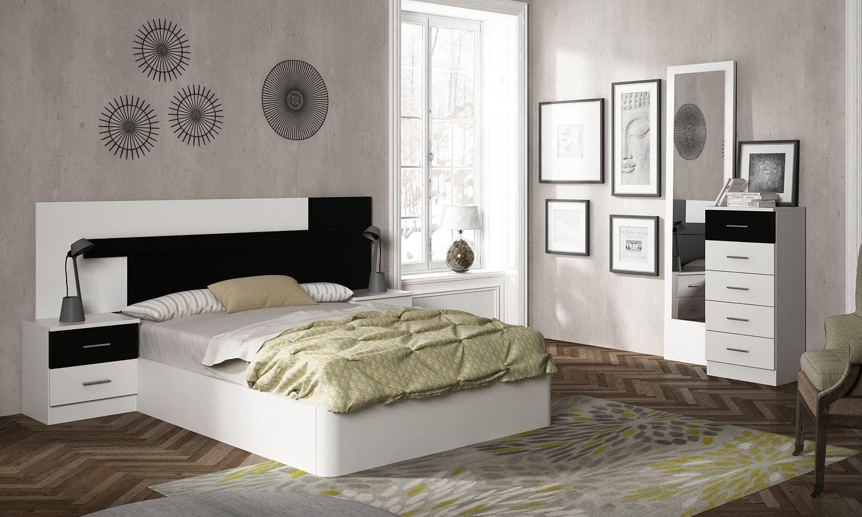 Cabecero / Dormitorio modelo LYON - Colchon Madrid | Fuenlabrada