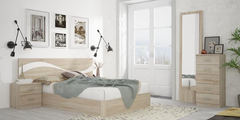 Cabecero / Dormitorio modelo DUNA - Colchon Madrid | Fuenlabrada