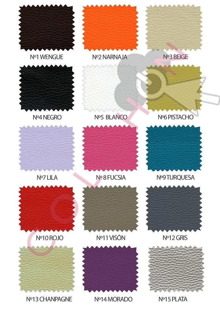 colores polipiel arcon cajones