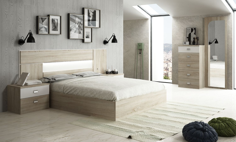Cabecero / Dormitorio modelo ZENIT - Colchon Madrid | Fuenlabrada