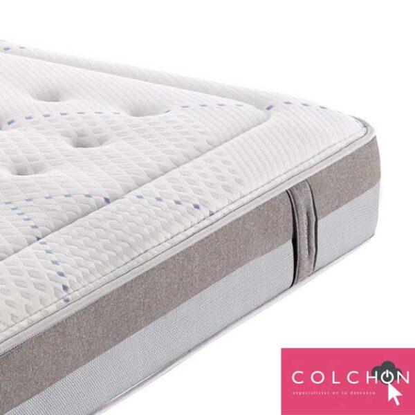 detalle colchón TECNOFRESH de Gomarco