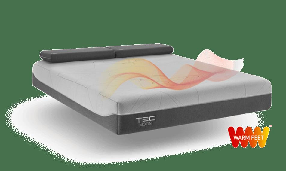 Colchón PRO S de Tec Moon con WARM FEET™