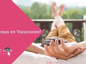 ¿Descansamos en vacaciones?