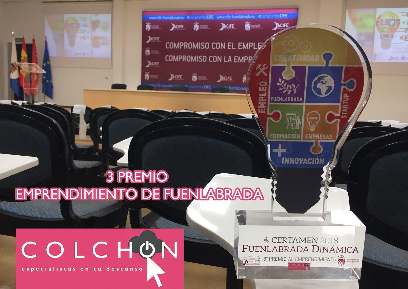 Tienda Colchón PREMIADA en el IV certamen de Emprendedores