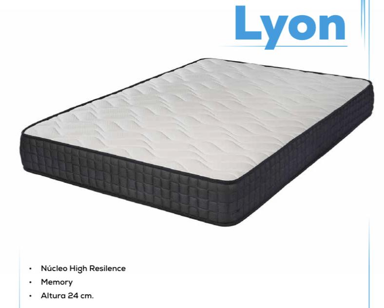 Colchón LYON de Bilox