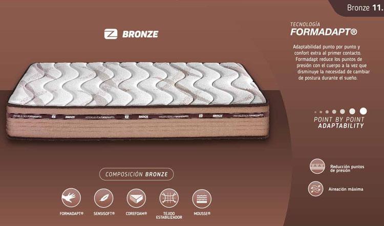 caracteristicas colchon bronze marpe
